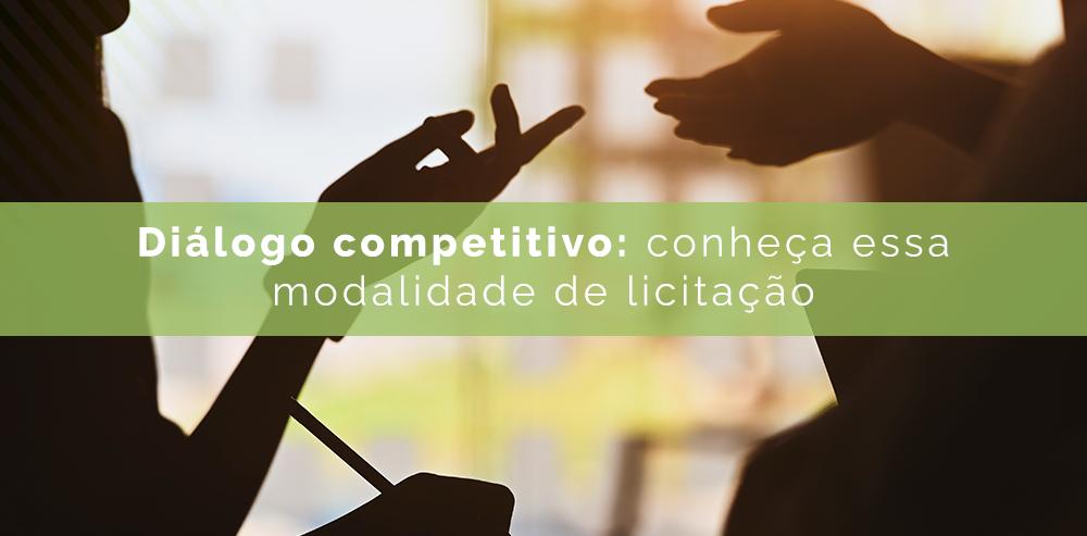 Diálogo competitivo para licitações