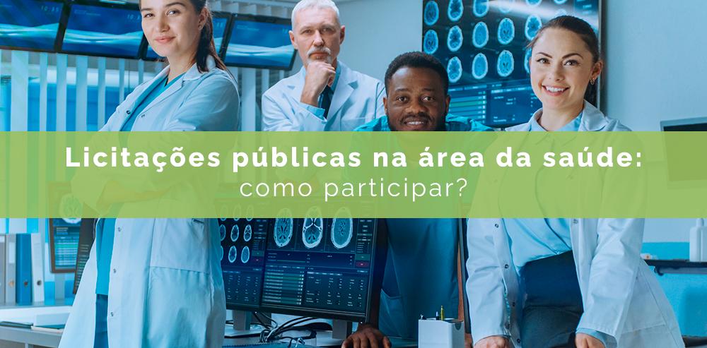 Licitações públicas na área da saúde