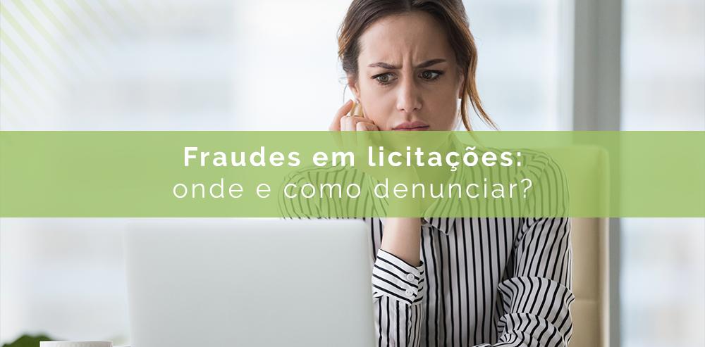 fraudes em licitações